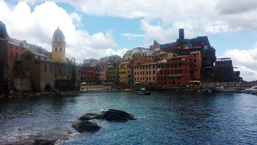 Photo illustration of the coast ofVernazza, Cinque Terre, Italy on Saturday, May 30.