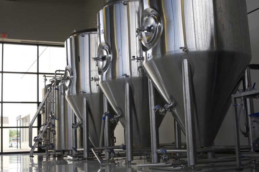 New Brewery equipment arrives at the WKU Center for Research and Development.