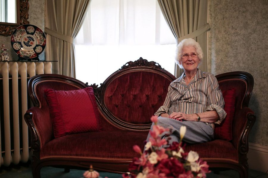 Kathryn Gilbert celebrated her 100th birthday on Aug. 30. Gilbert, the daughter of an established businessman, still owns retail property on Broadway Avenue.