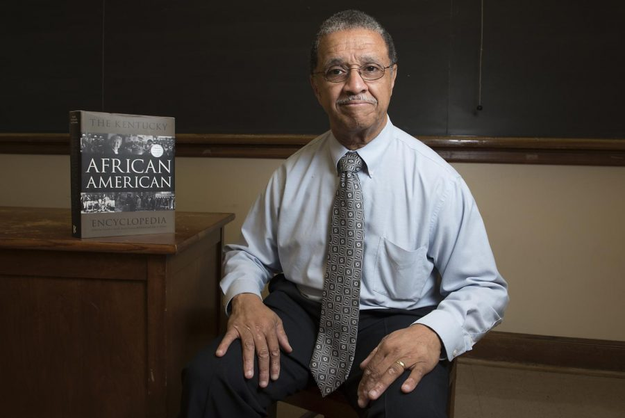 WKU professor John Hardin, a co-editor of the Kentucky African American Encyclopedia Project, has now published three books bearing his name, the latest being The Kentucky African American, which features entries from more than 150 writers to paint a complete picture about the black experience in Kentucky. Nick Wagner/HERALD