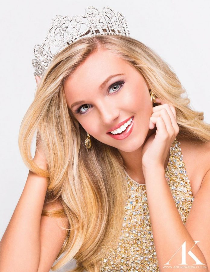 Freshman+Caroline+Ford+of+Bowling+Green+was+crowned+2015+Miss+Kentucky+Teen+USA.+Photo+submitted+by+Andrew+Kung