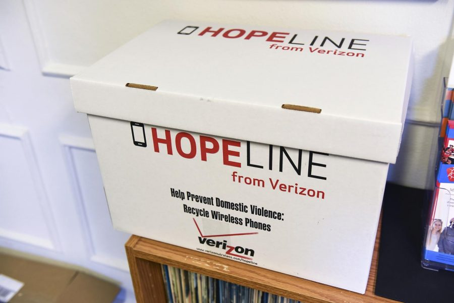 WKU is hosting a Hopeline Drive through Verizon Wireless to collect cell phones and electronics to benefit victims of domestic violence. The drive ends Friday. Collection boxes are located in several buildings on campus and at South Campus. Gabriel Scarlett/HERALD