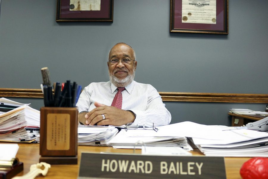 Howard Bailey is the vice president for Student Affairs. After working at WKU for 45 years, Bailey will be retiring. Tyger Williams/Special to the Herald