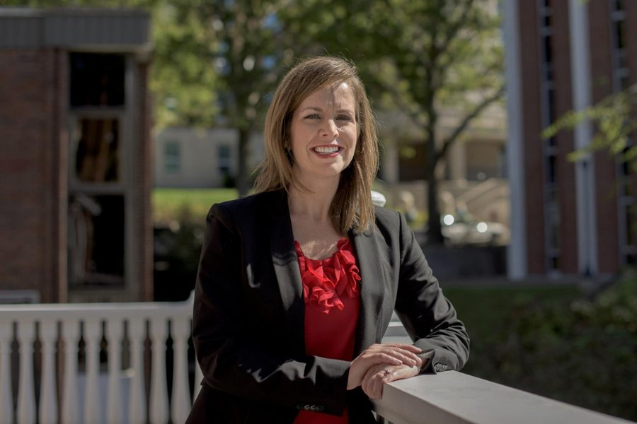 Assistant General Counsel Andrea Anderson is WKU's new Title IX coordinator; she replaces previous Title IX Coordinator Huda Melky. Anderson said she enjoys being able to help people in her new position. Mike Clark/HERALD