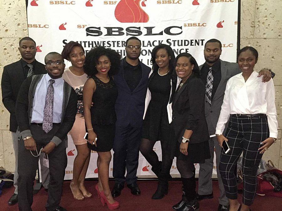 WKU students traveled to Texas A&M University to partake in the Southwestern Black Student Leadership Conference, SBSLC, on Jan. 21. The conference touched on leadership, and personal development in the African American community. Photo submitted by Jessica Jackson