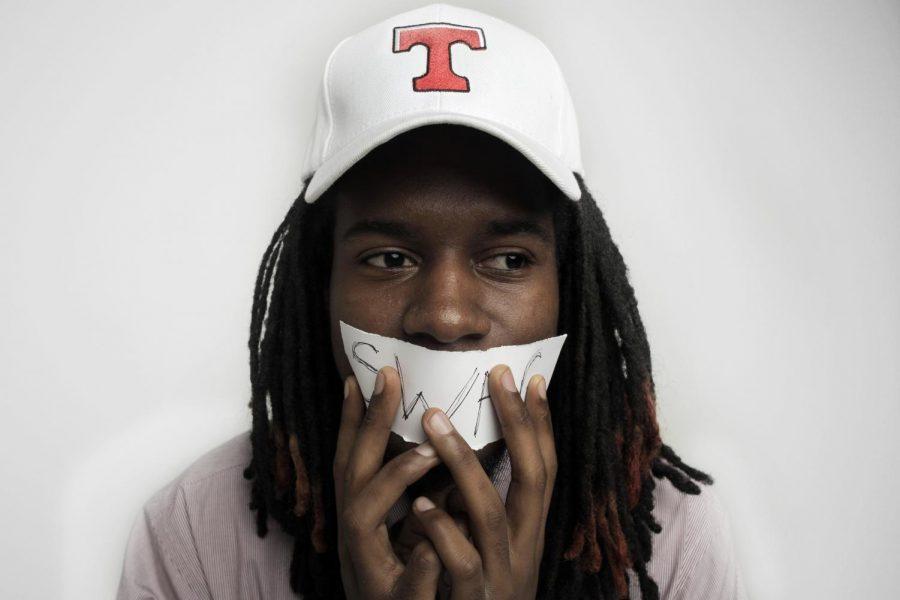 WKU+sophomore+Darius+Lightfoot+is+a+graphic+design+major+who+enjoys+rapping.+His+rap+video+Brandon+Doughty+Swag+has+over+5%2C000+views+on+YouTube.+Jennifer+King%2FHERALD