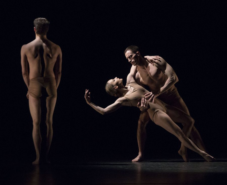 Charlotte+Landreau+is+suspended+in+air+%28center+right%29+during+the+performance+%22Lamentation+Variations%22+produced+to+commemorate+9%2F11.+This+piece+portrays+a+variation+of+Martha+Graham%27s+most+famous+piece%2C+Lamentation.%C2%A0Mhari+Shaw%2FHERALD