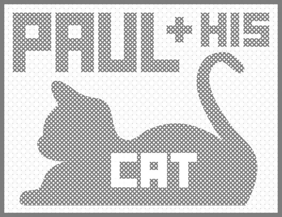 Paul and his cat