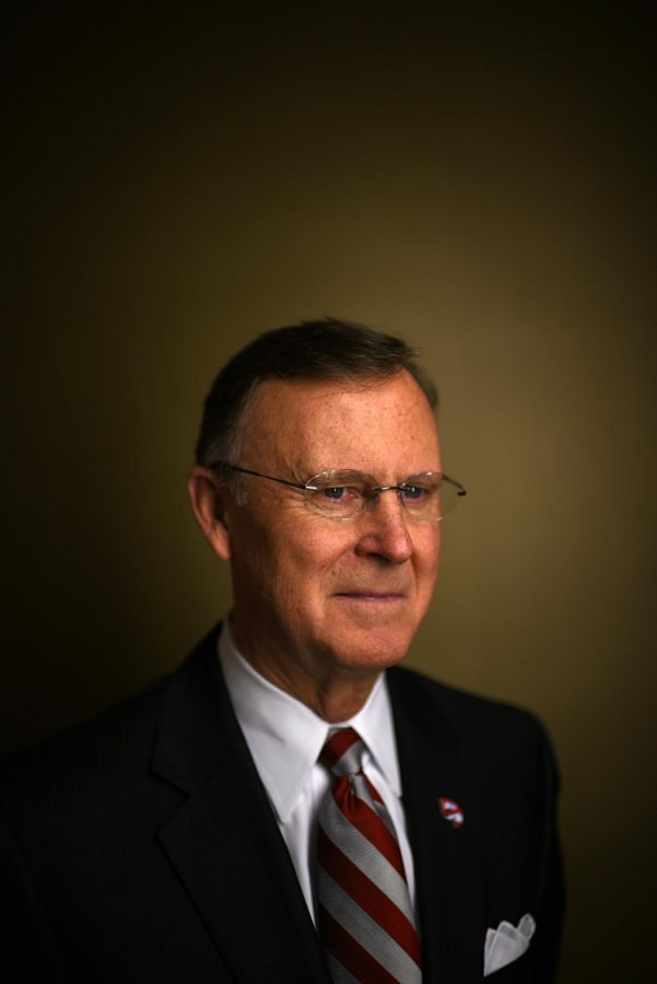 After almost 20 years as WKU's president, Gary Ransdell announced his retirement and resignation Friday. This decision was announced shortly after a new budget address proposed multiple financial cuts to WKU's state appropriation. Harrison Hill/HERALD