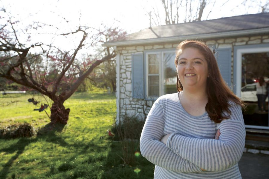 WKU Junior Elisabeth Moore moved into her aunt's house in Franklin sophomore year, found renters, and became the landlord of this property.