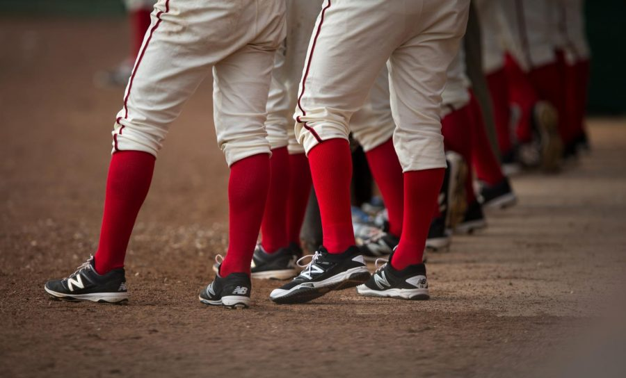 WKU+baseball+players+watch+from+the+dugout+as+they+fall+8-7+in+the+second+of+three+games+against+Youngstown+State+University+at+the+Nick+Denes+Field+in+Bowling+Green%2C+KY+on+Feb.+20.+WKU+won+the+first+and+third+games+of+the+weekend.+Gabriel+Scarlett%2FHERALD