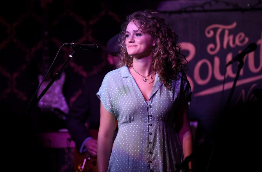 Glendale junior Jessie Key sings during her performance on Sunday, Feb. 28, at the Country Nashville in Nashville, Tennessee. Key and her band, which doesn't have a name yet, opened the night with a cover of Elvis Presley's