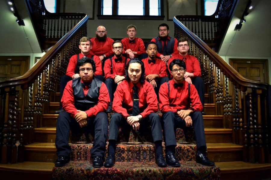 The WKU Redshirts, an a cappella group located within the student life on campus, perform one concert a semester. The Redshirts specialize in pop, jazz, musical theatre and much more. Photo submitted by Shari Dickerson