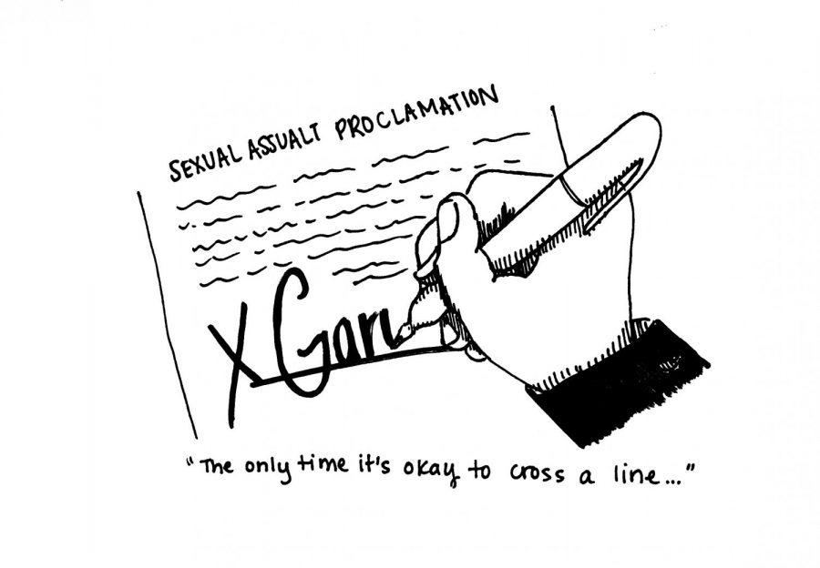 Signing+cartoon