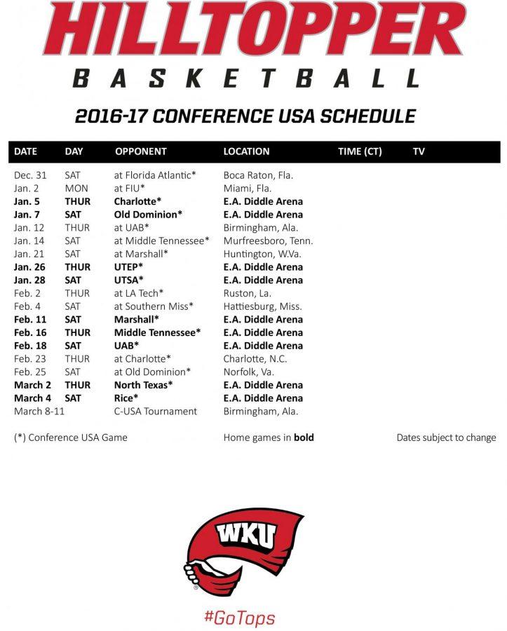 Schedule+courtesy+of+WKU+Athletics.