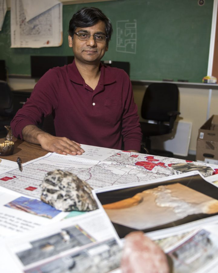 Royhan Gahi and his team worked to gather a 3D rendering of the seabed of the Gulf of Mexico. Gahi's work has been featured in a BBC documentary. Matt Lunsford/HERALD