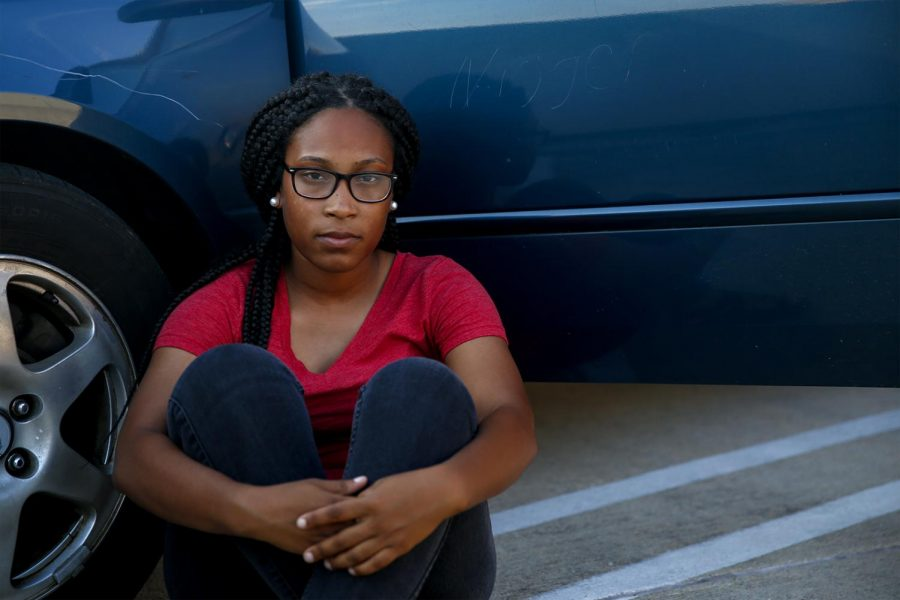 Senior%2C+Cheyenne+Mitchell%2C+21%2C+of+Lexington%2C+walked+out+of+DSU+and+into+PS2+to+find+that+her+car+was+keyed+and+one+of+her+tires+was+slashed+on+Tuesday%2C+Aug.+30+in+PS2.+%22After+I+saw+this%2C+my+day+went+downhill+from+there.+It+was+aggravating.+I+work+at+the+Boys+and+Girls+Club+and+I+didn%27t+want+to+take+my+emotions+out+on+the+kids.+I+was+told+that+WKU+will+make+sure+everything+is+taken+care+of%2C%22+Mitchell+said.+Ebony+Cox%2FHERALD