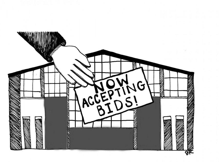 Medical Center Bid Illustration