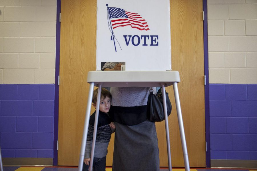 Students experience polling location confusion