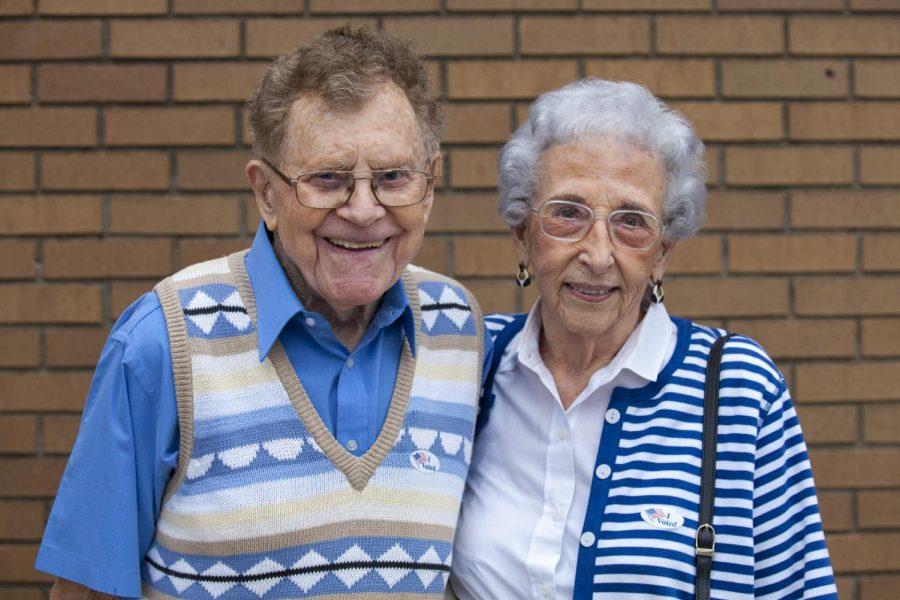 John Stone and Mame Ston voted at Living Hope Baptist Church during the general election on Tuesday, Nov. 8.