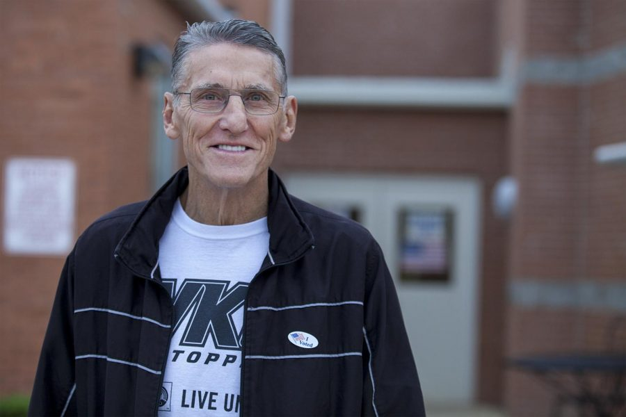 """""""I've been voting here [W.R. McNeill Elementary School] for probably 45 years, both of my daughters went here,"""