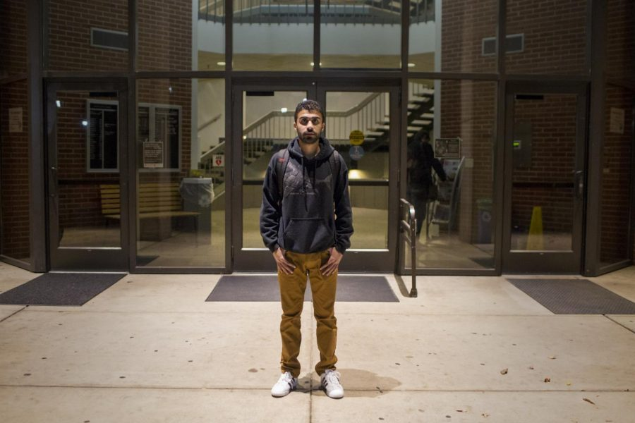 Ali Alessa, an International student from Saudi Arabia, is a junior studying manufacturing technology engineering. Alessa has been in the U.S. for 4 and a half years. Tyger Williams/HERALD