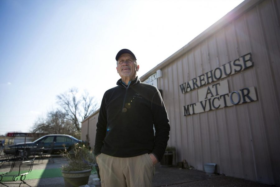 """""""My wife and I love music,"""" Lary Deaton said. In 2010 Deaton started The Warehouse, a concert venue, in Mount Victor. """"We built all of our vacations around seeing music ... that's all we did."""