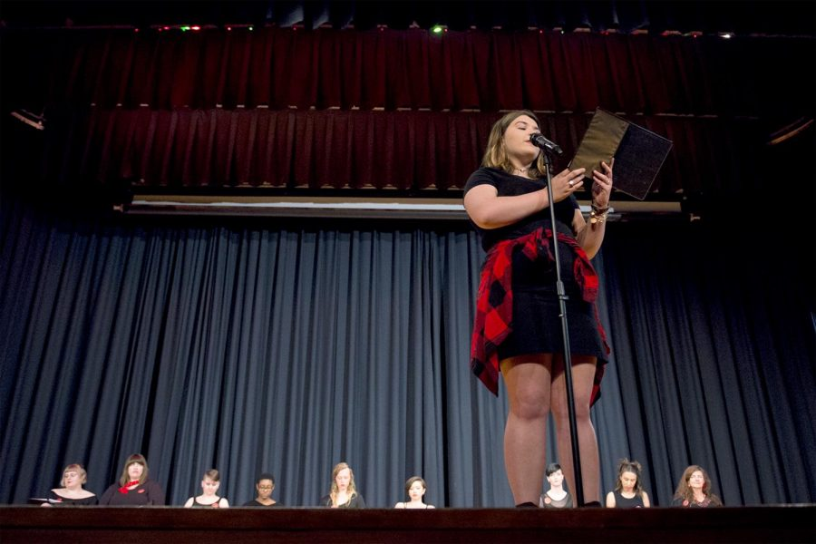 Ashley Hilger performs at WKU's