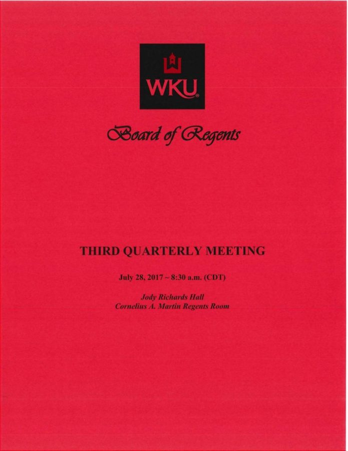Board of Regents to hold annual retreat Thursday