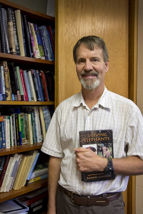 Dr. Bruce Schulte is the head of the biology department at WKU as well as a researcher of elephants.
