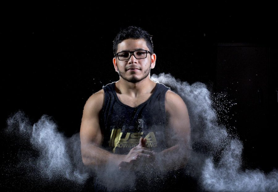 Sophomore Jadier Rivera from Hopkinsville won fourth in the National Weightlifting competition in Orlando, Florida in October.