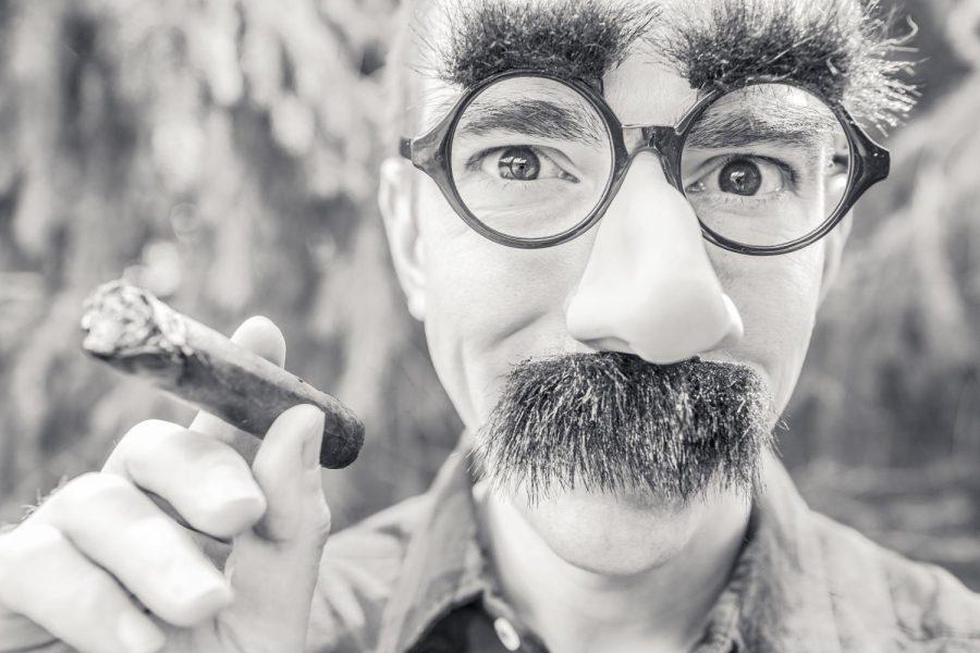 mustache+man