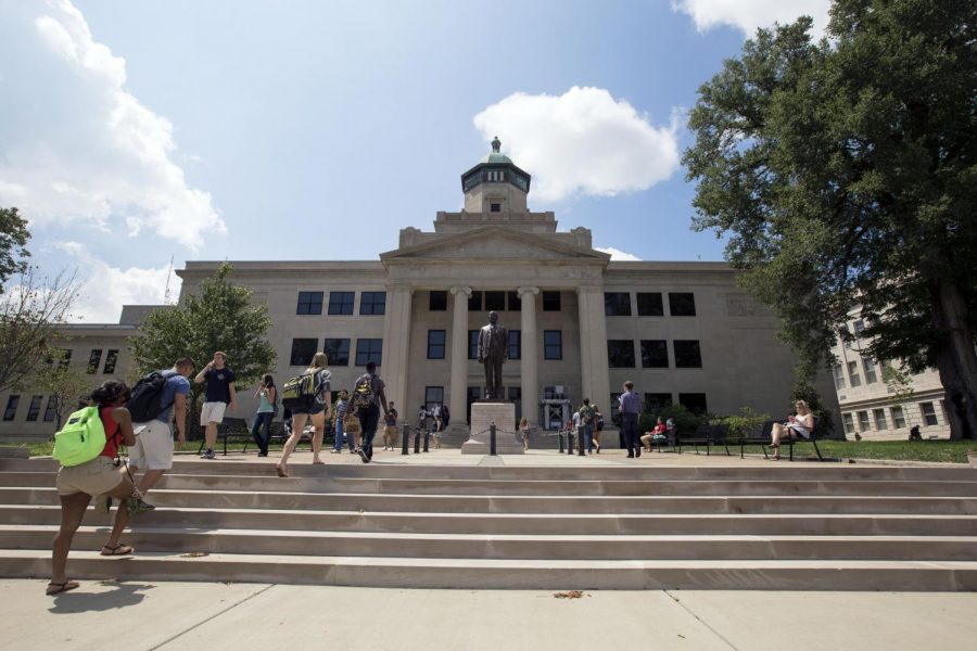 File photo of Cherry Hall.