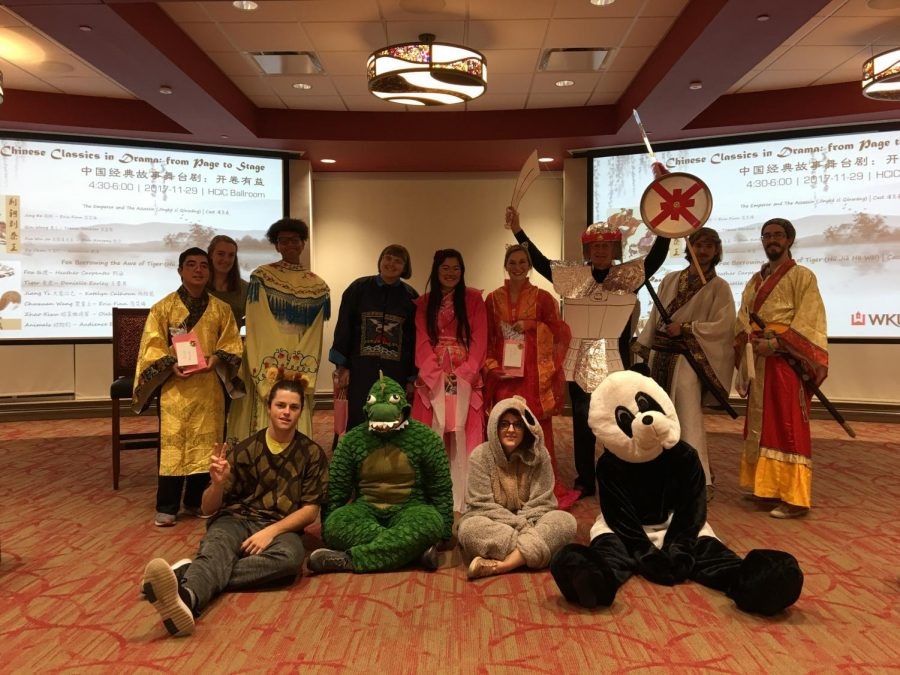 Students in the Chinese major and Chinese Flagship performed two short plays on Thursday.