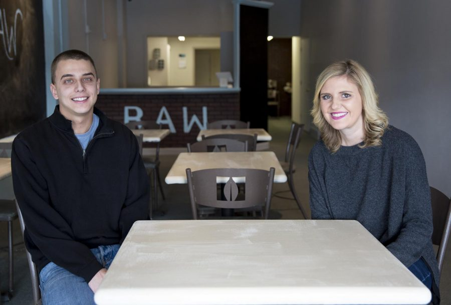 Bailey Dahlquist, WKU junior, and Chloe Hohlbein, WKU senior, prepare for the opening of their raw cookie dough business. Dahlquist and Hohlbein not only hope to draw in the business of fellow WKU students but the children and families in Bowling Green, Ky., as well.