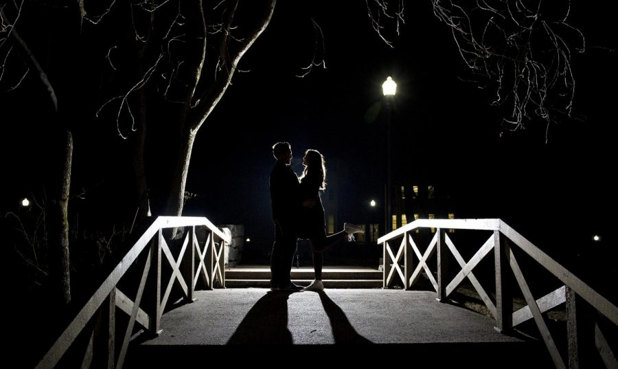 The+Kissing+Bridge+has+been+a+landmark+on+WKU%E2%80%99s+campus+since+1925.+The+legend+surrounding+the+bridge+varies+but+many+say+that+if+a+couple+shares+their+first+kiss+on+the+bridge%2C+they%E2%80%99re+destined+to+spend+the+rest+of+their+lives+together.