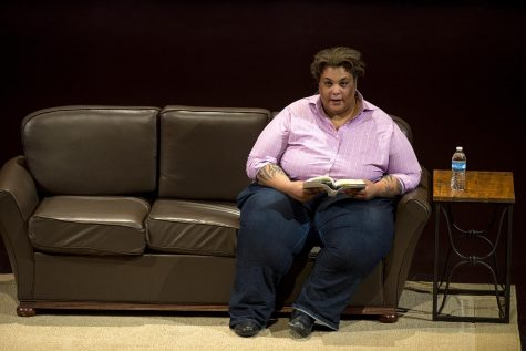 """Roxane Gay reads excerpts from her book """"Hunger"""" as part of WKU"""