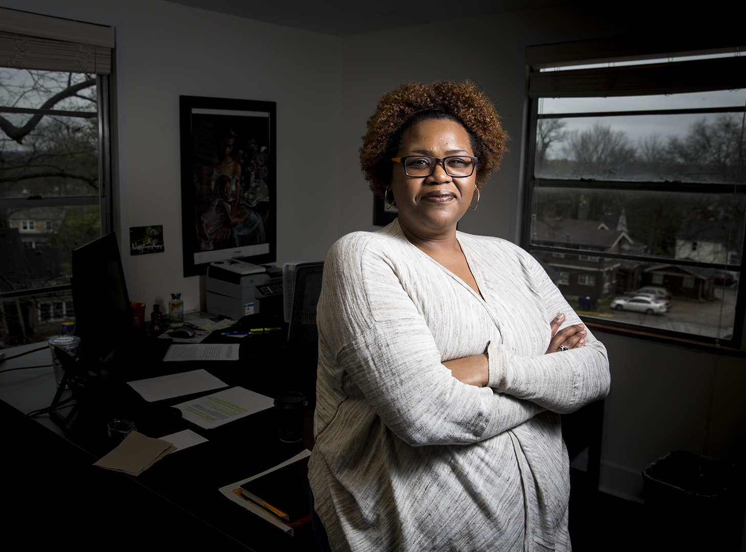 Cherly Hopson, an assistant professor of African-American Studies at WKU has been a professor for more than 19 years. Hopson said during her time at Roanoke College she was one of the five other students of color at the school. She began teaching after being inspired by stories of African-American history.
