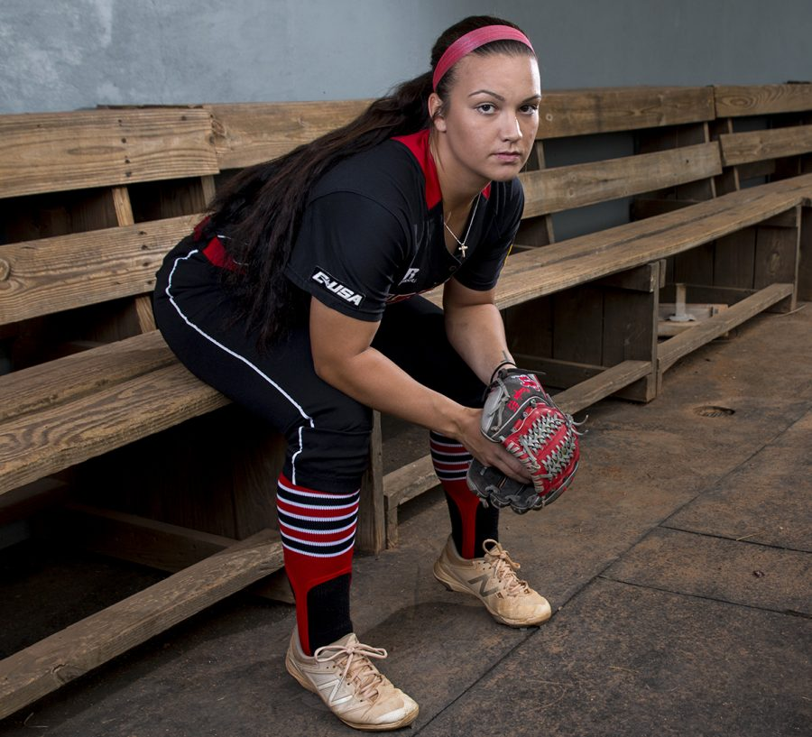 Brittany Vaughn is a redshirt senior on the WKU softball team. She has always known she has a different body type than other women and struggled with looking