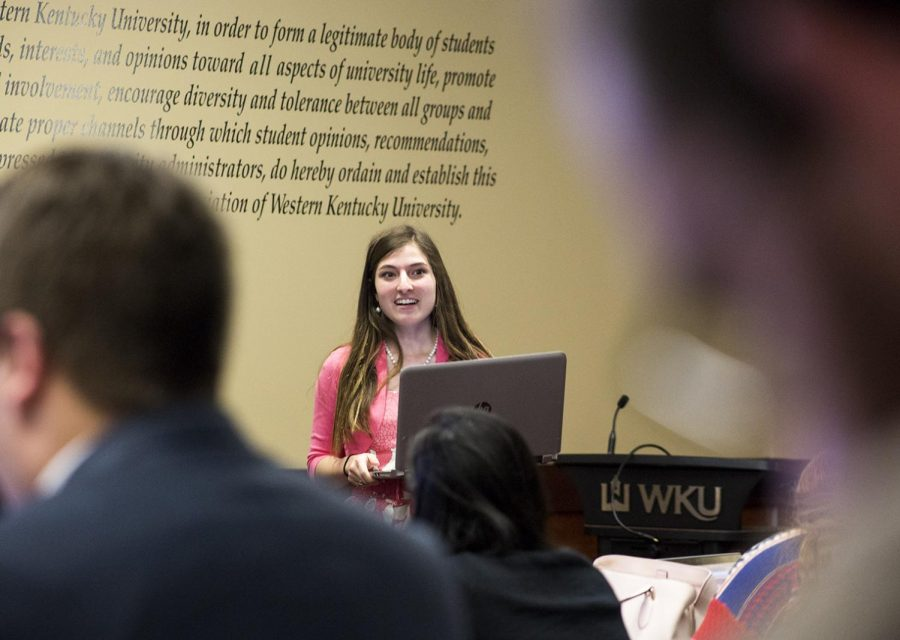 SGA met on March 20 to discuss upcoming events on campus and to finalize bill from the previous meeting. President of SGA Andi Dahmer gave a report at the meeting on current events on campus and upcoming bills to be passed at later meetings.
