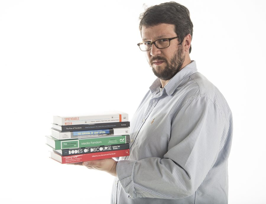 Sam Ford is a 2005 graduate of WKU and professor teaching the new pop culture class on professional wrestling and popular culture. Ford said he draws on his experience both working in and studying the media industries in his classes.