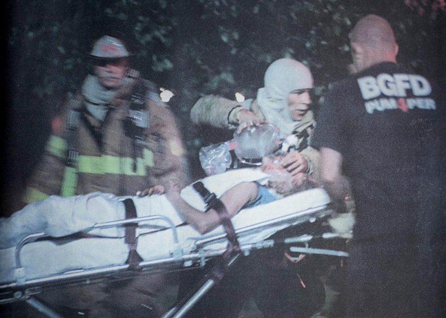 Photo from the Herald of the day Katie Autry was beaten, raped and lit on fire.