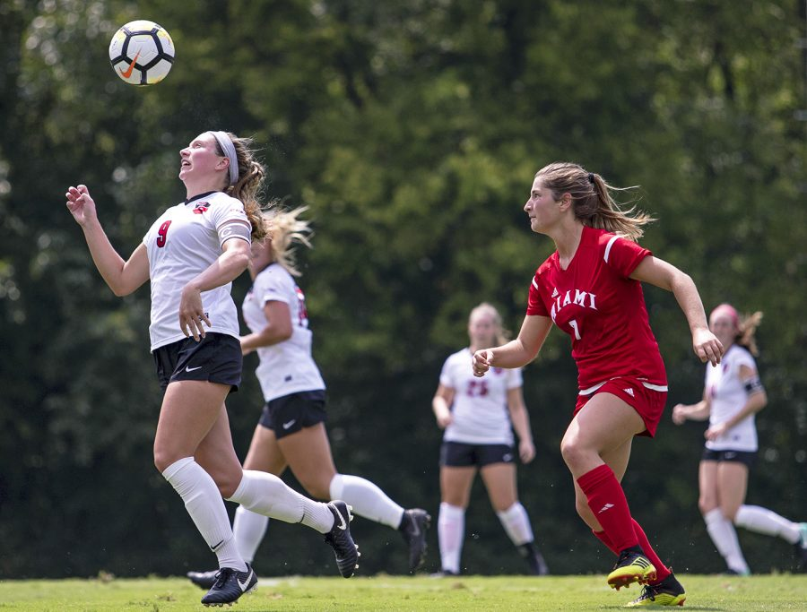 On Sunday August 26. The WKU women soccer team play their first game of the season against Miami, Ohio.