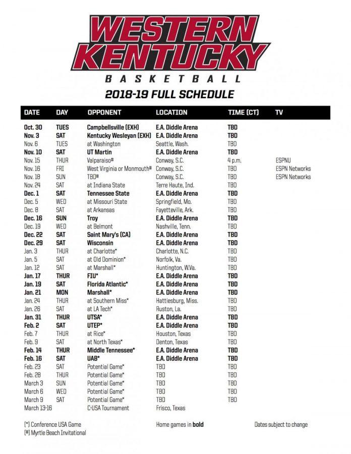 2018-19+basketball+schedule