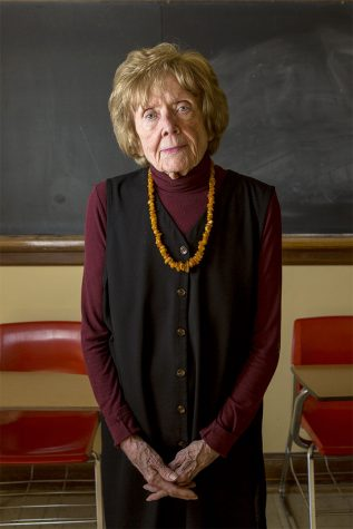 """English Professor Mary Ellen Miller has been with WKU for 54 years and is now in transitional retirement. She is continuing to teach but is using her newly found free time to write a book of poetry. Miller said she intends to continue teaching as long as she can or """"as long as they"""