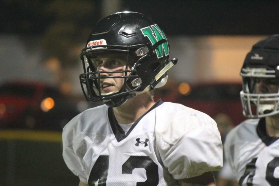 Bowling Green Christian Academy senior Riley Davis started his football career when the Warriors first founded their program. He's now a standout on the team.