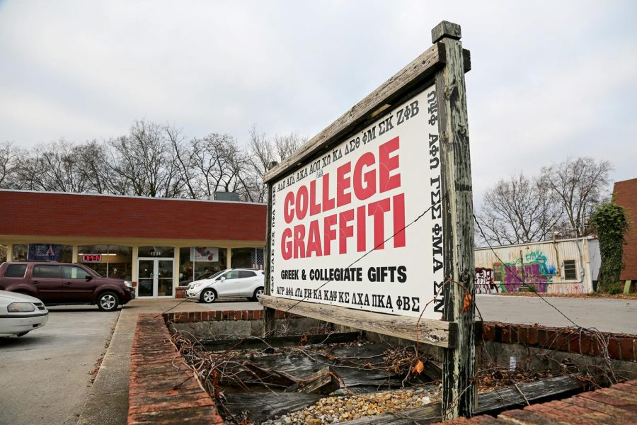 WKU+apparel+store+College+Graffiti+will+close+at+the+end+of+the+semester+after+30+years+of+business.+Owner+Diane+Signorello+said+purchases+may+still+be+made+online+after+the+storefront+closes.
