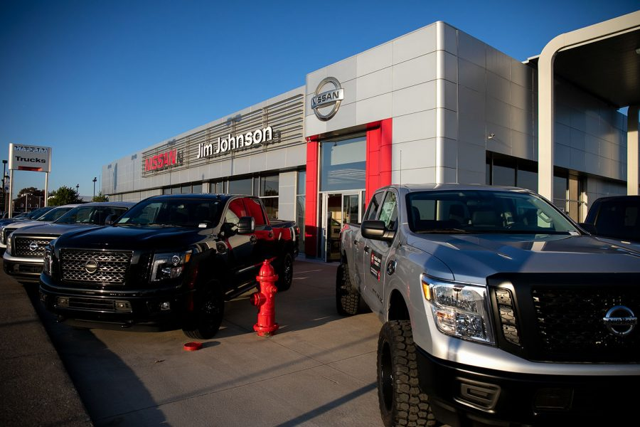 Jim Johnson Nissan offers a special finance option for soon-to-be or recent college graduates. As an alumnus himself, Johnson strives to provide a top-notch experience for all of those who come to his dealerships. (Photos by Lauren Pestoff)