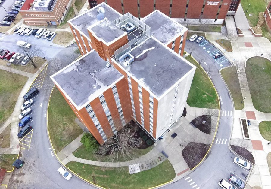 WKU announced Minton Hall would remain closed during the Spring 2019 semester due to necessary work to prevent mold. Residents were initially relocated in November due to mold outbreaks.