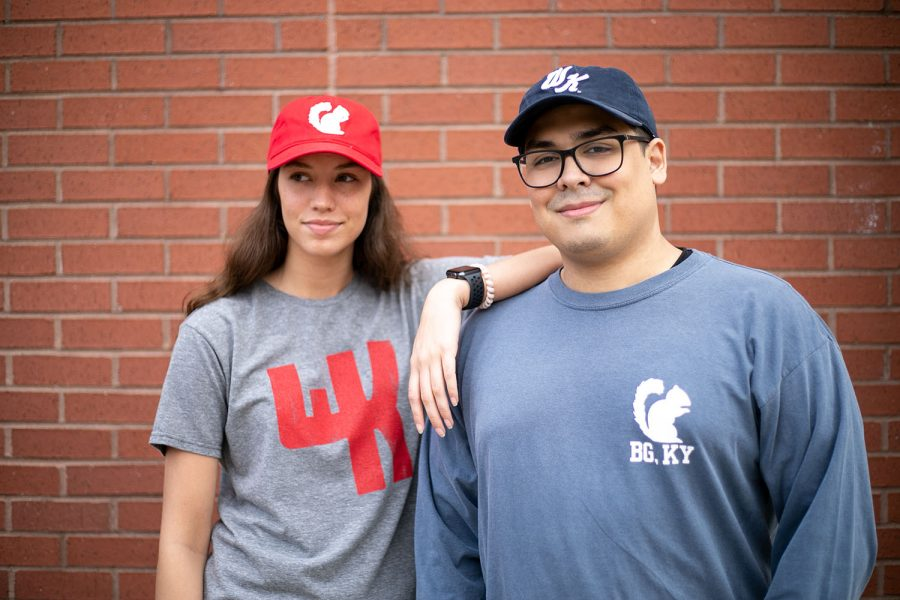 Contrary+to+popular+belief%2C+the+WKU+Store+still+carries+various+different+items+sporting+the+classic+white+squirrel+design.+The+white+squirrel+baseball+cap+is+one+of+the+store%E2%80%99s+most+popular+items.